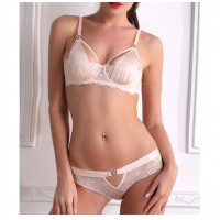 10413-5 New 2017 sexy woman underwear set women's bra set European bra & brief sets famous full lace bra intimate sexy lingerie