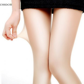 1Pcs Sexy Nylon Spandex Lady Women 4 Colors Transparent Tights Pantyhose Stockings Black gray coffee Skin32367623555