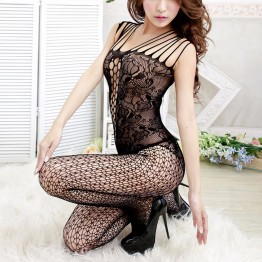 1pcs Hot Women Sexy Lingerie Sexy Sleepwear Robe Nightdress See Through Sexy Costumes Sheer Mesh Sex Underwear Erotic Lingerie