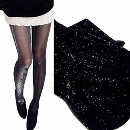 1 x Sexy Charming Shiny Pantyhose Glitter Stockings for Women Glossy Tights Hot Selling Summer Dress essential