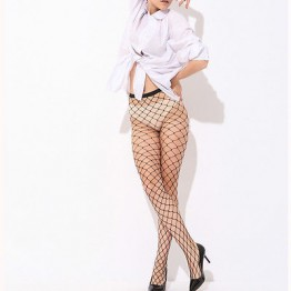 2017 Hot Sale Fashion Women Ladies  Sexy Fishnet Pattern Pantyhose Tights Punk Pantyhose Stockings High Quality