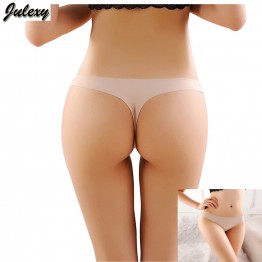 Julexy 3 Pieces Brand Seamless Women Thongs And G Strings Solid Sexy Women Briefs 9 Colors Slim Women Panties And Underwear