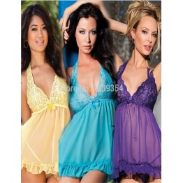 M XL XXXL women sexy lingerie sexy costumes hot sexual bandage dress fantasias negligee Bathrobes intimates Babydolls & Chemises