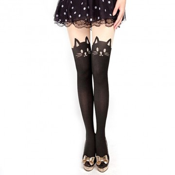 New Sexy Stockings Women Cute Cat Tail Leggings Female Catoon Stocking Sexy Sheer Pantyhose Stockings Long Sexy Stocking P232662279063