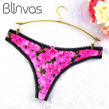 Sexy G String Lace Underwear Women Panties Multiple Patterns Thongs Breathable Nylon Brief S / M / L / XL / XXL Calcinha