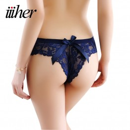 Underwear Women G string Sexy String Lingerie Lace Thong Seamless Briefs Transparent Panties Knickers Black Tangas Bragas