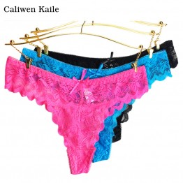Whoesale New 2016 Thongs And G Strings Sexy Lace Panties For Women Hot Sale and New Fashion